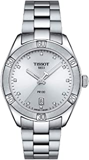Tissot Analogue Classic Silver Strap Women's Wrist Watches - T101.910.11.036.00