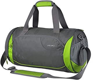 Sports Duffle Bag,Men And Women Holdall Handbag For Swimming Travel Yoga Hiking Camping (Color : E, Size : S)