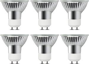 Lustaled Halogeenlamp, 35 W, GU10, dimbaar, warm wit, 2700 K, 360 lm, AC220 – 240 V, GU10, inbouwlamp, voor de verlichting...