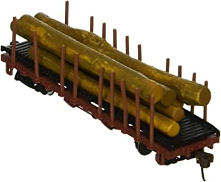Bachmann ACF 40' Log Car 1906 - 1935 Version - N Scale