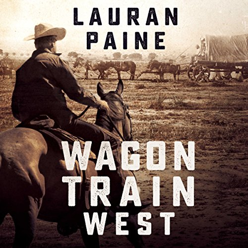 Wagon Train West audiobook cover art