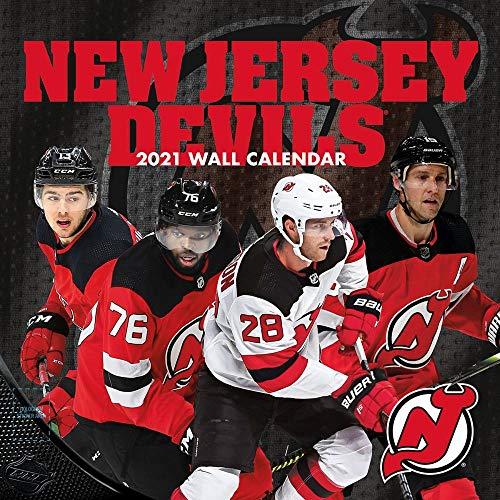 TURNER Sports New Jersey Devils 2020 12X12 Team Wall Calendar (21998011947)