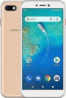 General Mobile GM 9 Go Single Akıllı Telefon, 16 GB, Sunrise Gold (General Mobile Türkiye Garantili)