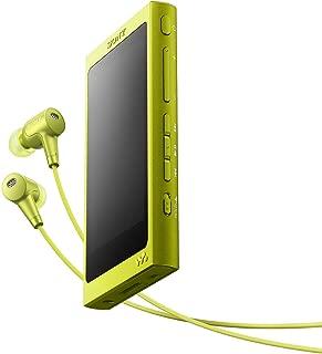 ソニー SONY ウォークマン Aシリーズ 32GB NW-A36HN : Bluetooth/microSD/ハイレゾ対応 ノイズキャンセリング機能搭載 ハイレゾ対応イヤホン付属 ライムイエロー NW-A36HN Y