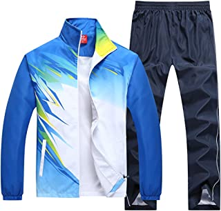 November`s Chopin Men`s Sportwear Active Athletes Nylon Tracksuits Jogging Sweat Suit