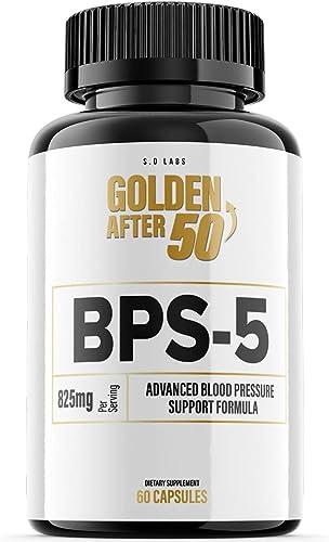 discount BPS-5 for Blood Pressure sale Supplement BPS5 online sale Golden After 50 Pills (1 Pack) outlet online sale