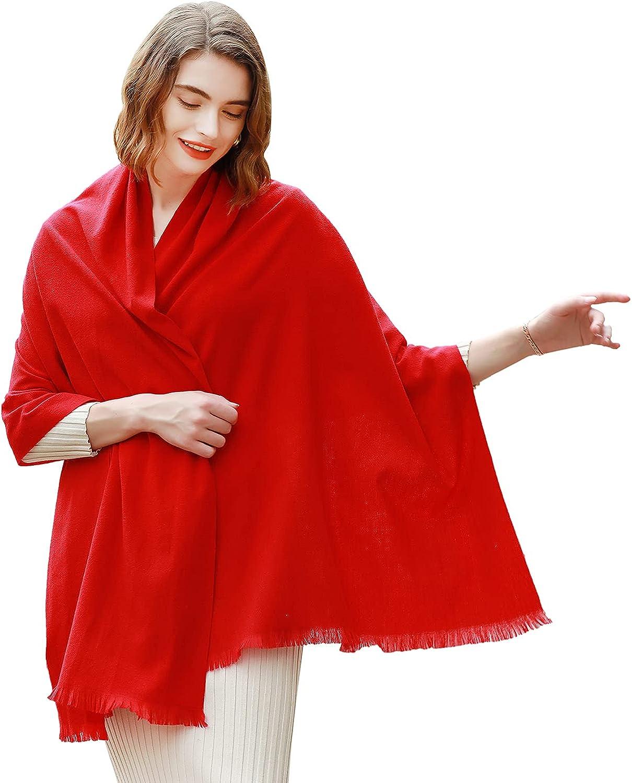 Weekly update Pashmina Shawl Popular Wraps for Women Wedding Sc Large Winter Scarf