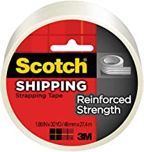 Scotch Reinforced Strength Shipping Strapping Tape, 1.88-Inch x 30-Yards, 6-Pack (8950-30)