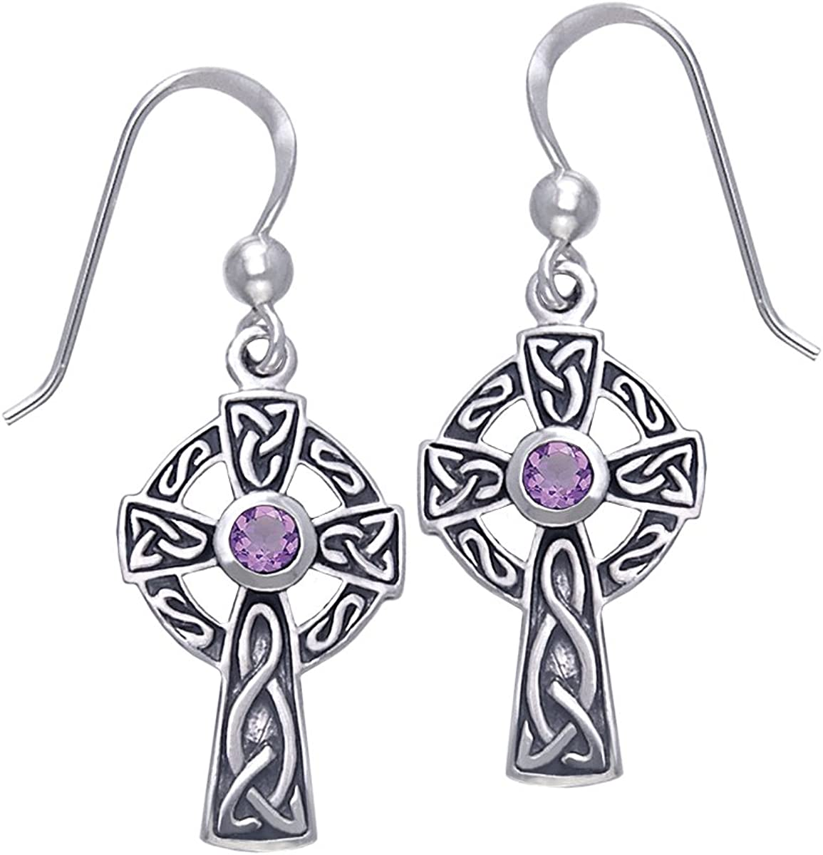 Jewelry Trends Sterling Silver Celtic Dangle with Earrings Las Clearance SALE! Limited time! Vegas Mall Cross