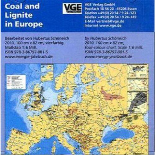 Coal and Lignite in Europe, CD-ROMWirtschaftsgeographische Wandkarte