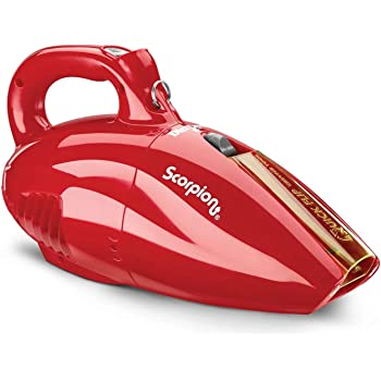 Dirt Devil SD20005RED Scorpion Handheld Vacuum Cleaner, Corded, Small, Dry Hand Held Vac With Cord, Red (Design Might Vary)
