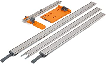 WTX 5 Pc Straight Edge Saw Guide Set, Includes 50
