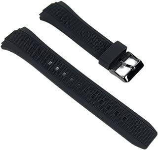 Genuine Casio Watch Band 20mm Black Resin Strap Edifice #10366009 EFA-131PB-1A EFA-131RBSP-1AV