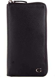 Luxury Fashion | Guess Mens SM2652LEA58BLACK Black Wallet | Fall Winter 19