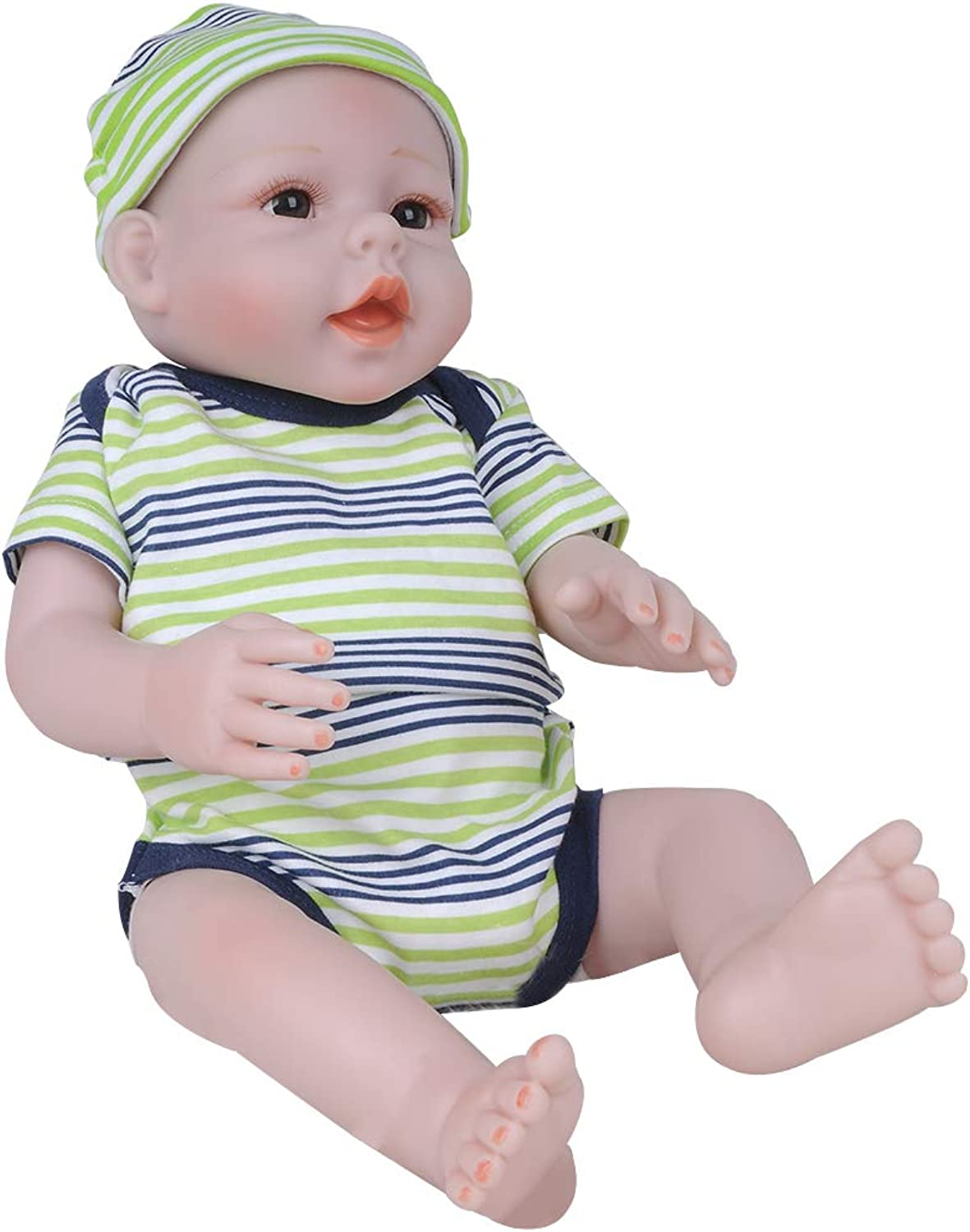 Flameer Real Life 20inch Reborn Baby Toddler Doll Newborn Size Fake Toddler Doll  Reborn Toddler Dolls That Look Real  Appease Toys