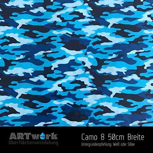 Unbekannt Wassertransferdruck Exklusiv Design Folie Artwork Camo 8 50cm Breite