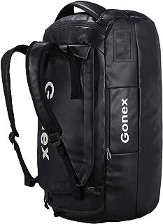Gonex 40/60/80L Bolsa de Deporte Viaje Mochila Impermeable Duffel Bag Resistente al Agua para Deporte Acuático, Camping, Senderismo, Viajes, Gimnasio, Playa, Vela, Natación, Navegación, Surf