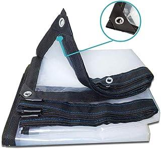 KWEE Clear Tarps Heavy Duty Waterproof, Super Heavy Duty Poly Tarp Cover - Thick Waterproof, UV Resistant, Rot, Rip and Te...