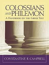Colossians and Philemon: A Handbook on the Greek Text (Baylor Handbook on the Greek New Testament)