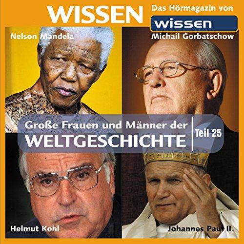 Große Frauen und Männer der Weltgeschichte 25 cover art