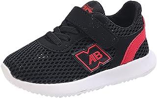 buy online efb01 60b08 OHQ Enfants GarçOns Et Filles D éTé Lettres Simples Net Sport Chaussures  Casual Shoes Noir