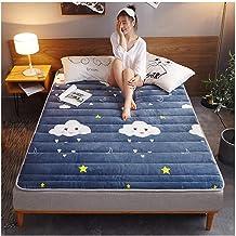 Tatami Futon Mattress, Collapsible Super Thick Tatami Floor Mat, Comfortable Mattress Student Dormitory Double Mattress Th...