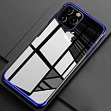 Phone Case for iPhone 11 Pro Max 2019 11 Pro X XR XS Max Fashion Soft Plating Protective Cases for iPhone X 6S 7 8 Plus 11 Pro,Blue,for iPhone 8 Plus