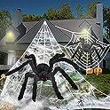 4-Pack BiGosh Halloween Scary Spider Decoration