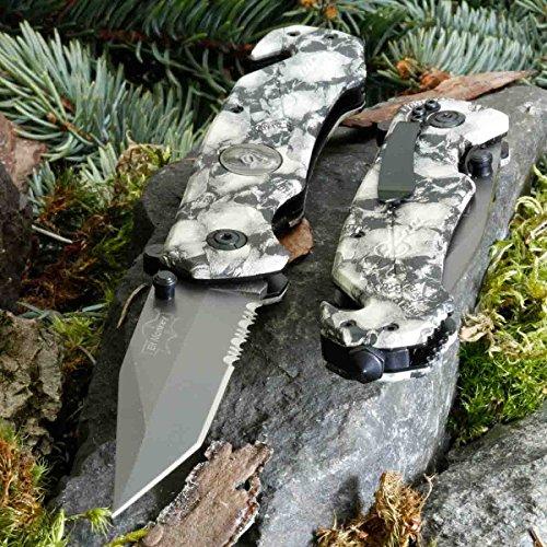 Elf Monkey Sahara B-103 • KLAPPMESSER • EINHANDMESSER TAKTISCHES Messer • Gesamtlänge: 230mm • PTM-de.