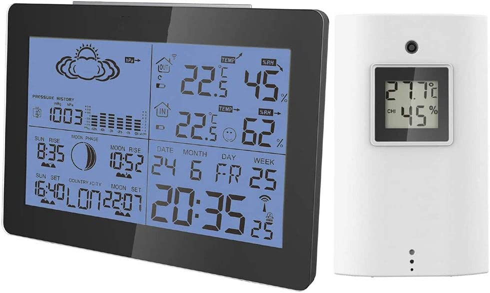 LIUDOU Digital Weather Station Super intense SALE with Controlled Clock 5 ☆ popular Indo Radio