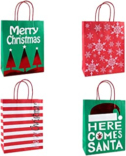 Best Quality 5pcs 3 Size Cartoon Christmas Paper Gift Bag and Food Packaging Handle, Vintage Gift Bags - Gift Bags Wholesale, Kids Queen Size Sheets, Costume Plus Size, Christmas Stocking