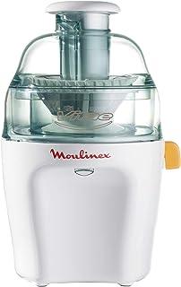 comprar comparacion Moulinex Vitae JU200045 - Licuadoras para Verduras y Frutas, 200 W, Velocidad 12.800 rpm, Tapa y Contenedor Pulpa Transpar...