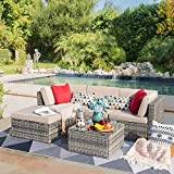 Devoko 5 Pieces Patio Furniture Sets All-Weather...
