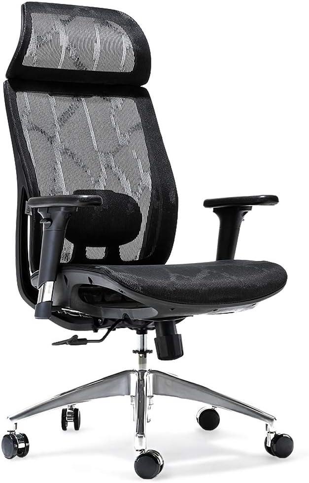 Umi Ergonomischer Bürostuhl Atmungsaktiver Verwaltungsstuhl mit Hoher Rückenlehne und Verstellbarer…