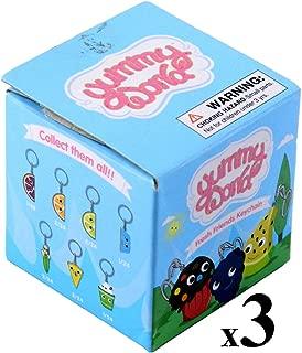 Kidrobot Lot of (3) Yummy World Fresh Friends Blind Box Vinyl Figure Keychains