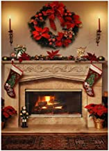 Best winter fireplace background Reviews