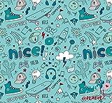 Finn liebt Annie 100% Baumwolle Kinderstoff Nice & Fresh