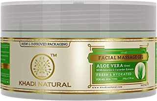 Khadi Aloevera Gel With Liqorice & Cucumber Extracts
