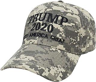 Goorape Donald Trump 2020 Keep America Great Patterned USA Caps Adjustable Baseball Bucket Hats