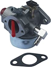 KIPA Carburetor for Tecumseh 640271 640303 640350 LV195EA LEV100 LEV105 LEV120 Engine Lawn Mower Carb Carburetor with Mounting Gasket