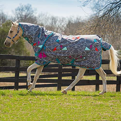 Horseware Amigo Plus - Tappeto per origami di pony, misura media, 1,2 m, colore: Blu navy