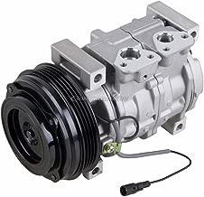 AC Compressor & A/C Clutch For Suzuki Grand Vitara & XL-7 Replaces Denso 10S13C 4-Groove - BuyAutoParts 60-00834NA NEW