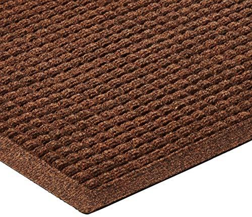 Hudson Exchange 4206 Waterhog Fashion Floor Mat Runner Dark Brown 60 L x 22 W 3//8 Thick