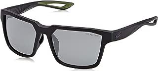 Mavrk Sunglasses, Matte Squadron Blue/Black Frame, Grey with Silver Flash Lens