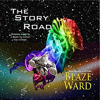 The Story Road audiobook cover art