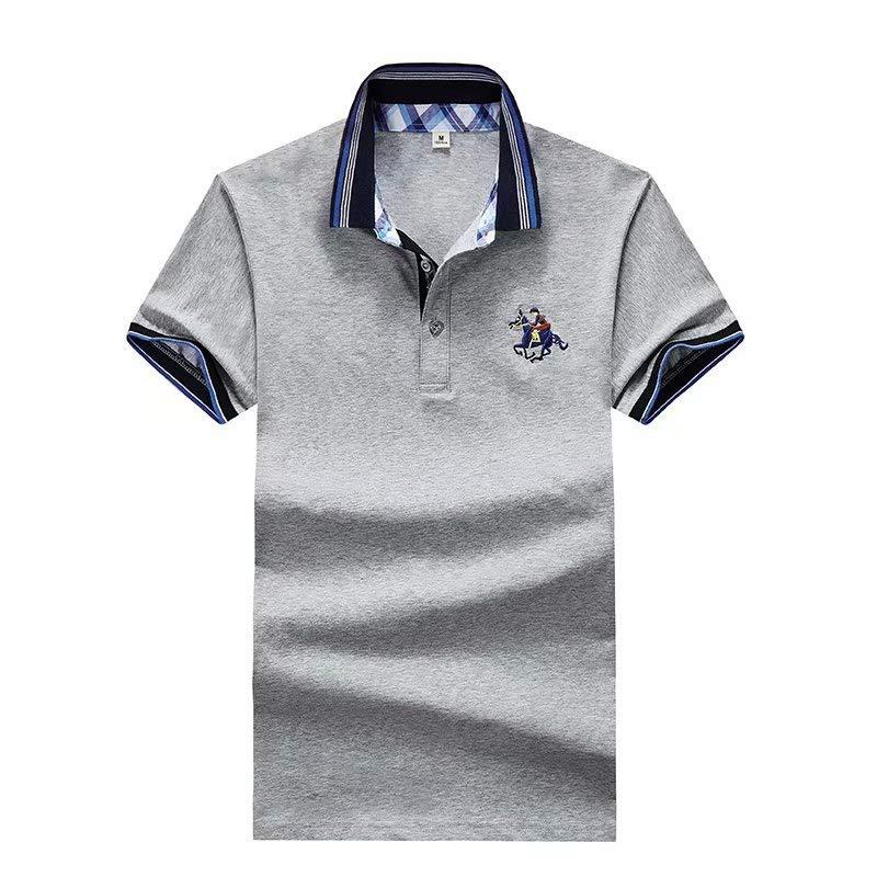 Dwayne Dwyane半袖Tシャツメンズ2019夏の新しい綿の夏緩いラペルポロシャツメンズメンズGFHF 78879 GH