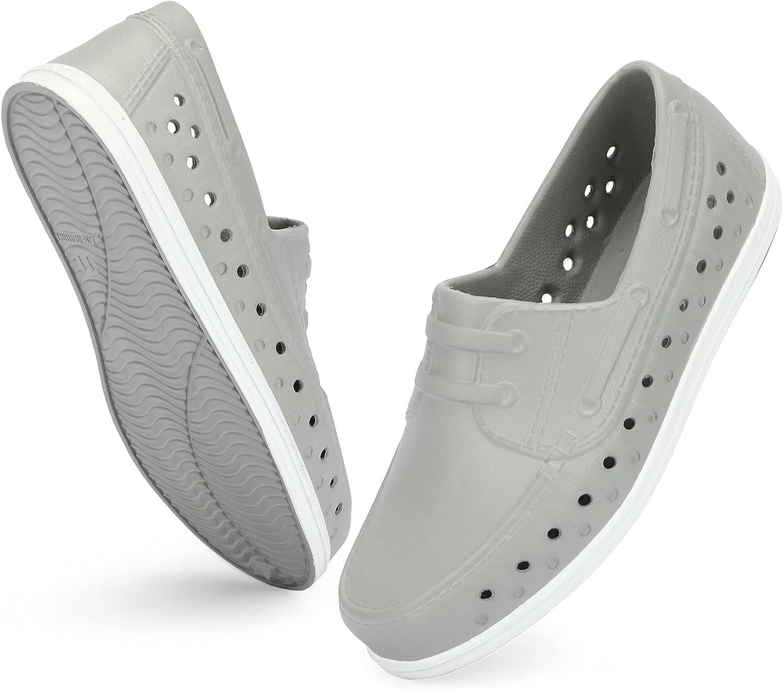 ANLUKE Kids Water Sandals Boys Quick Dry Slip on Beach Swim Pool Lightweight Breathable Sport Shoes Outdoor & Indoor