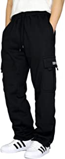 Men's Heavyweight Fleece Cargo Sweatpants