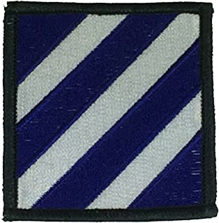 US ARMY 3RD INFANTRY DIVISION UNIT PATCH - COLOR - Veteran Owned Business