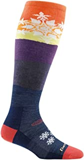 Darn Tough Snowflake Over The Calf Light Sock - Women's